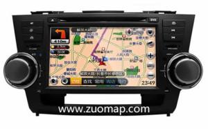 汽车导航地图如何标注