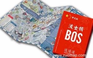 波士顿中文地图标注