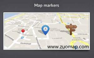 手机地图标注
