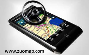 手机导航地图标注