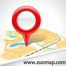 网络地图标注