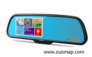 行车记录仪地图标注
