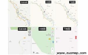 百度地图标注