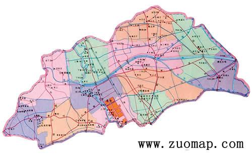 天津市全新地图标注整合旅游景点