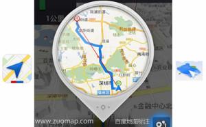 地图标注餐馆
