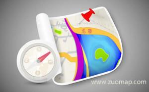 杭州百度地图标注