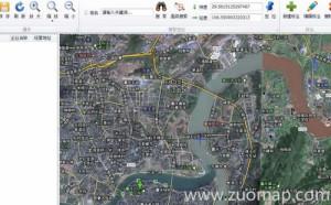长沙县电子地图标注