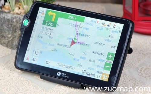 凯立德导航地图标注app货车无忧