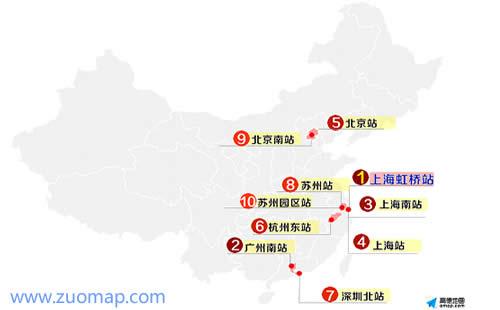 春节出行上海高德地图标注全国最拥挤