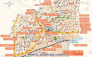 酒店地图标注