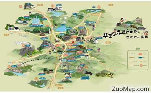 茌平县村庄地图