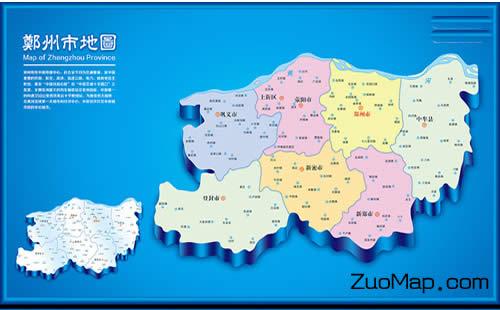 郑州电子地图标注房屋租赁市场