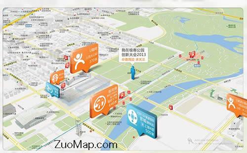 用户点赞百度地图标注最适合自由行游客图片