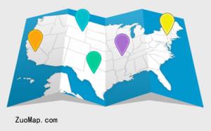高德地图地产项目标注