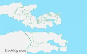 如何在地图上绘制路线