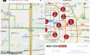 如何在地图上发布自己的店铺位置
