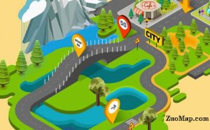 旅游地图标注