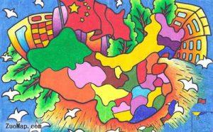 广西地图标注