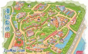 学校地图标注