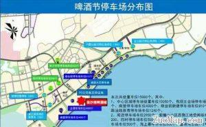青岛地图标注