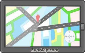 高德导航地图标注