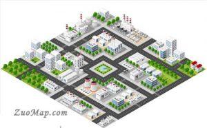 工厂地图标注